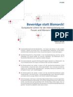 Beveridge Statt Bismarck