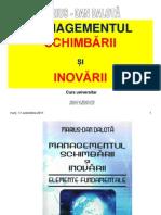 Curs1 Mgtsch-Inov Cap1 - Conceptele de Schimbare-Inovare Org-1