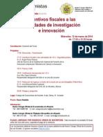 Jornada Colegio Economistas Alicante 12-3-14
