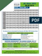 jee mains 2014 paper 1 set G answer key