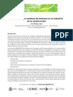 Valorizacion de Residuos de Biomasa en La Industria