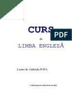 Curs Lb. - Engleza