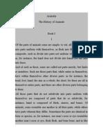 Aristotle-history of Animals