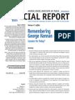 Remembering George Kennan