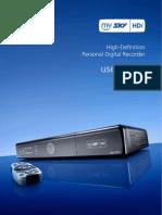Manual MySky HD user guide