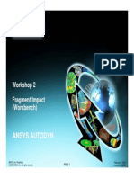 Ansys Autodyn 120 Workshop 02