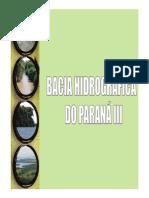 Bacia Hidrográfica do Paraná III