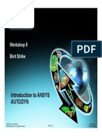 Ansys Autodyn 121 Workshop 05