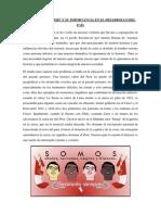 RACISMO EN EL PERÚ Y SU IMPORTANCIA EN EL DESARROLLO DEL PAÍS