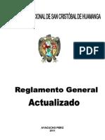 UNSCH_Reglamento actualizado 2012