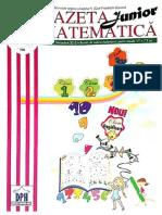 Gazeta.matematica.junior Nr. 32.Nov. Cls.1-4