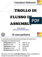Controllo di flusso in Assembly