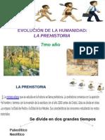 EVOLUCIÓN DE LA HUMANIDAD,7mo