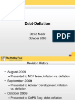 Debt Deflation October 2009