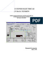 PROTECCIONES ELECTRICAS BAJA TENSIÓN