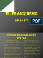 El Franquismo (1)