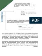 Derecho Fiscarl, Servicios
