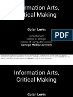 Golan Levin presentation from Malofiej 22 (2014)