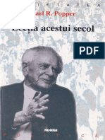 Karl Popper-Lectia Acestui Secol-Nemira (1998)