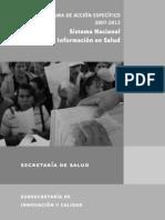 Sistema Informacion Salud Mexico