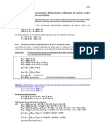 Sistema de Ec. Dif.metod. Num