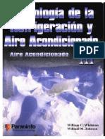 Tecnologia de la refrigeracion y aire acondicionado-Aire acondicionado- TOMO III.pdf