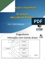 Introdução à Engenharia - seção 8 - Mercado de trabalho