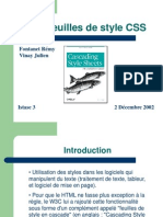 Feuilles de Style - CSS