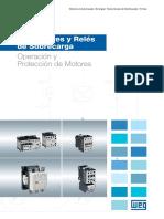 WEG Contactores y Reles de Sobrecarga 50036562 Catalogo Espanol