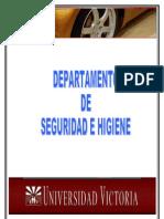 DEPARTAMENTO DE SEGURIDAD E HIGIENE