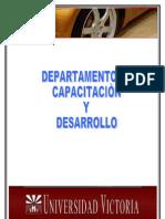 DEPARTAMENTO DE CAPACITACION Y DESARROLLO