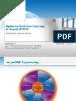 Optimize Acid Gas Cleaning Webinar