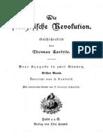 Carlyle, Thomas - Die französische Revolution (1898)