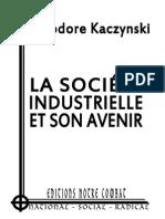 Kaczynski ThÇodore - La sociÇtÇ industrielle et son avenir.pdf