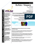 PFLAG Buffalo-Niagara April Newsletter