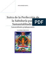Sutra de la Perfección de la Sabiduría para Samantabhadra.