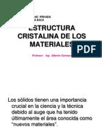 Clase Estructura de Materiales