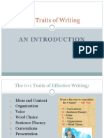 61 Traits of Writing Intro Lessons