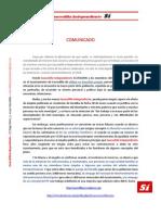 Comunicado Prensa 4