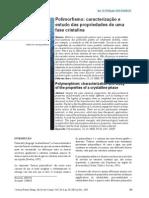 Polimorfismo_caracterização e estudo das propriedades de uma fase cristalina