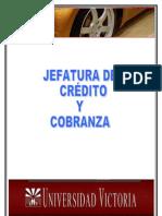 DEPARTAMENTO DE CREDITO Y COBRANZA