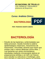 BACTERIOLOGIA.-