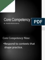 core competency 9