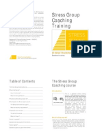 Stress Group Coaching Training Brochure