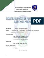Sulfato de Amonio Honeywell Informe