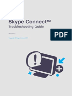Skype Connect Troubleshooting Guide