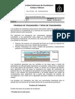 Tarea 1 - Tipos de Trazadores y Pruebas de Trazadores