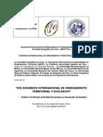 1ra Circular VIII CIOTE-Cuzco (1)