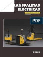 Catalogo Transpaletas Electricas