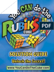 Solution Guide rubik's kubik